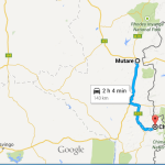 mutare chimanimani picture map directions