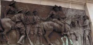 Cecil John Rhodes, Leander Starr Jameson and Allan Wilson