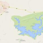 great zimbabwe masvingo map