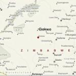gokwe location on zimbabwe map