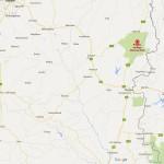 mtarazi falls location on map