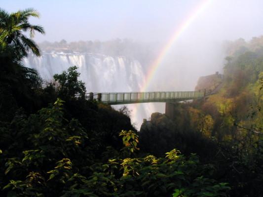 victoria falls foot bridge