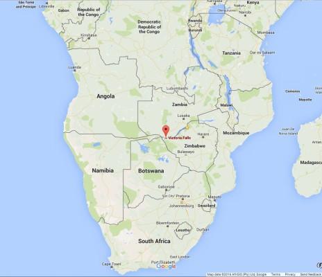 Victoria Falls Africa Map ZIMBABWE TOURIST ATTRACTIONSZim News