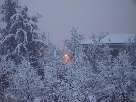 snow in zim lower gweru
